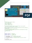 Arduino Ultrasonic Acces