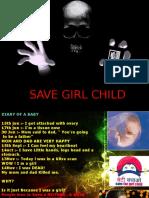 Save girl child beti bachao