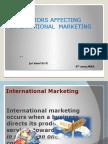 factors affecting international marketing