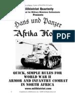 Hans und Panzer Afrika Korps Game