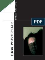 Ihor Podolchak Press Archive 2016