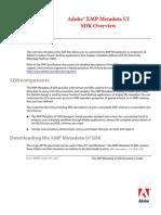 Adobe XMP Metadata Overview