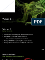 Vulkan in C++ (by Nvidia)