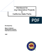 Workbook for Planning Interpretive Projects