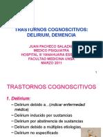 Trastornos Cognocitivos Delirium Demencias Marzo 2011
