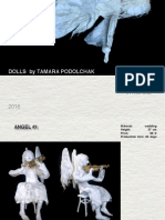 Tamara Podolchak Handmade Dolls. Catalog