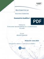 U2. Funciones Trigonometricas y Coordenadas Polares
