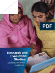 DARPG Evaluation Study Book