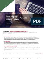 Understitial Ad – das neue Premium-Format für Desktop & Mobile