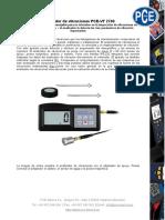 Hoja Datos Vibrometro Pce Vt2700