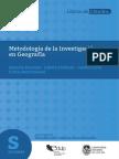 Metodología de La Investigación Geográfica