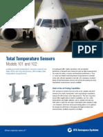 Total Temperature Sensors - Models 101 and 102