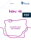 How to Increase Your Self Esteem 2013