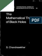Chandrasekhar S. The mathematical theory of black holes.pdf