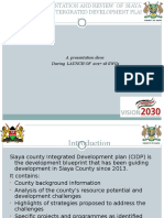 Highlights of Cidp - Sector Targets and Perfomance