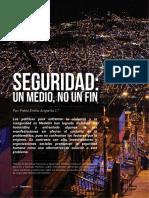 Seguridad Un Medio No Un Fin
