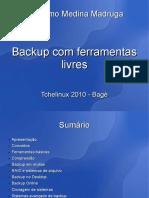 Backup ferramentas livres Verso2