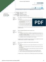 Exercícios de Fixação - Módulo Único Gestão Estratégica Com Foco Na Administração Pública - Turma 01 A