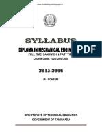 Mechanical Full Syllabus