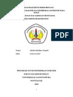 Laporan Praktikum Mikrobiologi Meika My