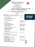 Acuerdo No. 061 Del 27 de Diciembre 2016 - Calendario Académico Secional Aguachica 2017-1