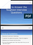 How to Answer the Toughest Interview Questions.pptx