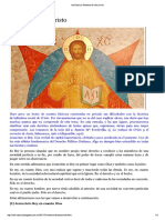 InfoCaótica- Realeza de Jesucristo