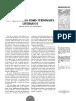 Los Araucanos Como Personajes Literarios - Miguel Ángel Auladell Pérez