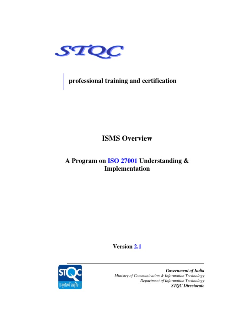 Mastering Isms Iso 270012013 Information Security Business