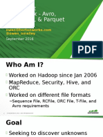 File Format Benchmark_ Avro, JSON, OrC, And Parquet Presentation 1