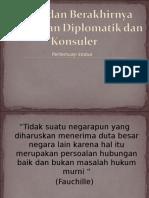2 Mulai Dan Berakhirnya HUb Diplomatik