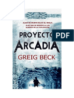 Greig Beck - Serie Alex Hunter 01 - Proyecto Arcadia