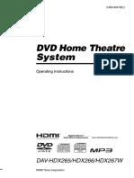 Sony Davhdx265