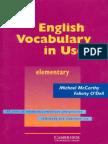 Cambridge University Press - English Vocabulary in Use (Elem.pdf