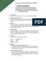 TDR Cableado Estructura Sistema Electrico FIIS UNAC