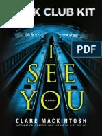 I See You Book Club Kit