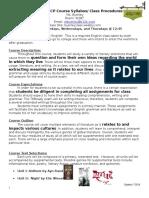 english 10 cp course syllabus - spring 17 updates
