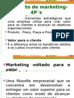 Composto de Marketing- 4p s Aula 2