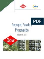 8. Arranque, Parada y Preservación
