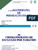Cromatografia de Exclusão de Tamanho