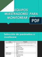 Instrumentos Monitoreo