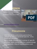 8. Pneumonia