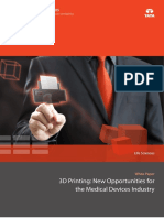3D Printing New Opportunities for Medical Device Industry 0315 1