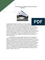 Los nuevos procesos constructivos y su influencia en la forma de proyectar arquitectura