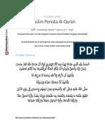 Khutbah Jumat, Muslim Penista Al Quran