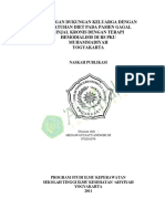 Hubungan dukungan keluarga dengan kepatuhan diet pada pasien gagal ginjal kronis dengan terapi hemodialisis di rs pku Muhammadiyah Yogyakarta