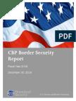 CBP FY2016 Border Security Report