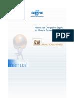 Sebrae - Manual Das Obrigaçoes Legais Da Micro e Pequena Empresa [Funcionamento]