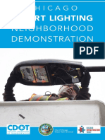 Chicago Smart Lighting Neighborhood Demonstration Flyer