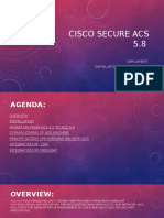 Cisco Secure ACS 5.8